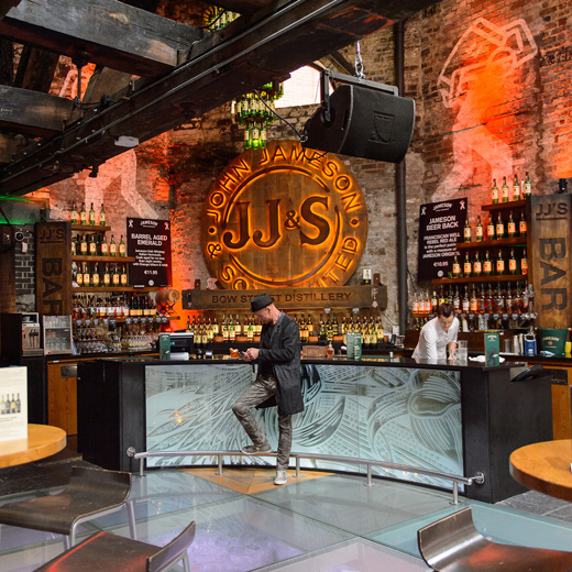 Old Jameson Distillery Bar