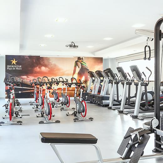 Das Hotel Iberostar Playa de Muro**** bietet die perfekte  Infrastruktur für das Trainingsprogramm