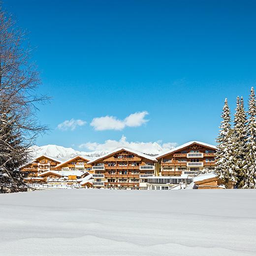 Alpenpark Resort von Aussen