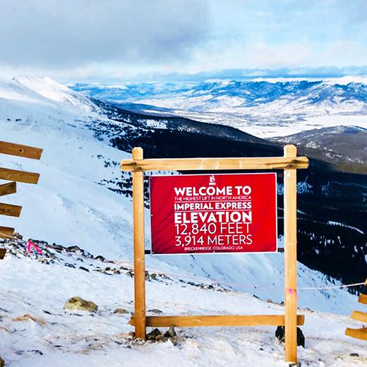 Höchster Skilift: Imperial Express Superchair auf 3963 Meter!