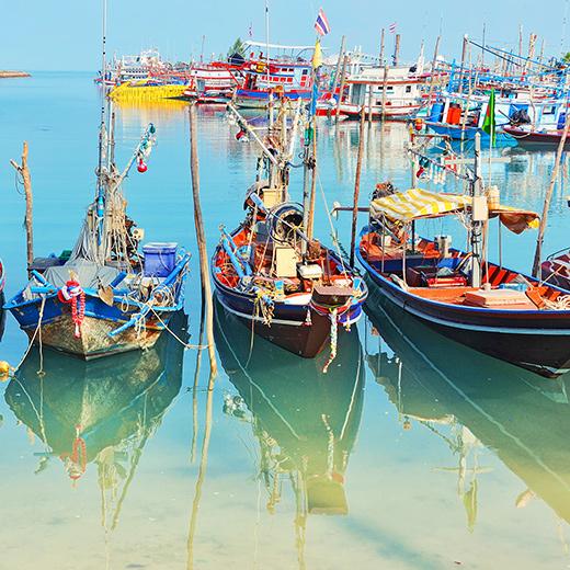 Der Markt Fishermen Village Bophut