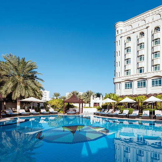 Das Hotel Radisson Blu