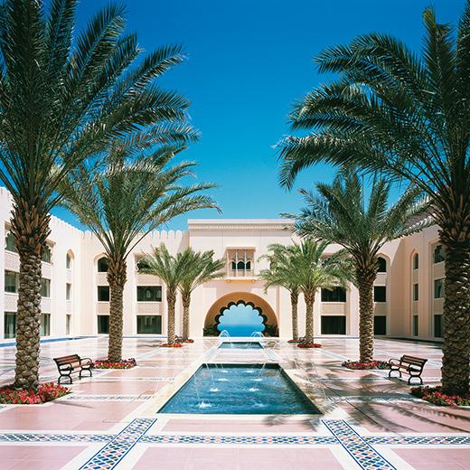 Das Hotel Shangri-La Al Husn Resort & Spa