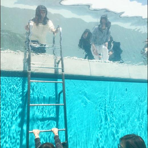 La piscine de Leando qu musée d'art