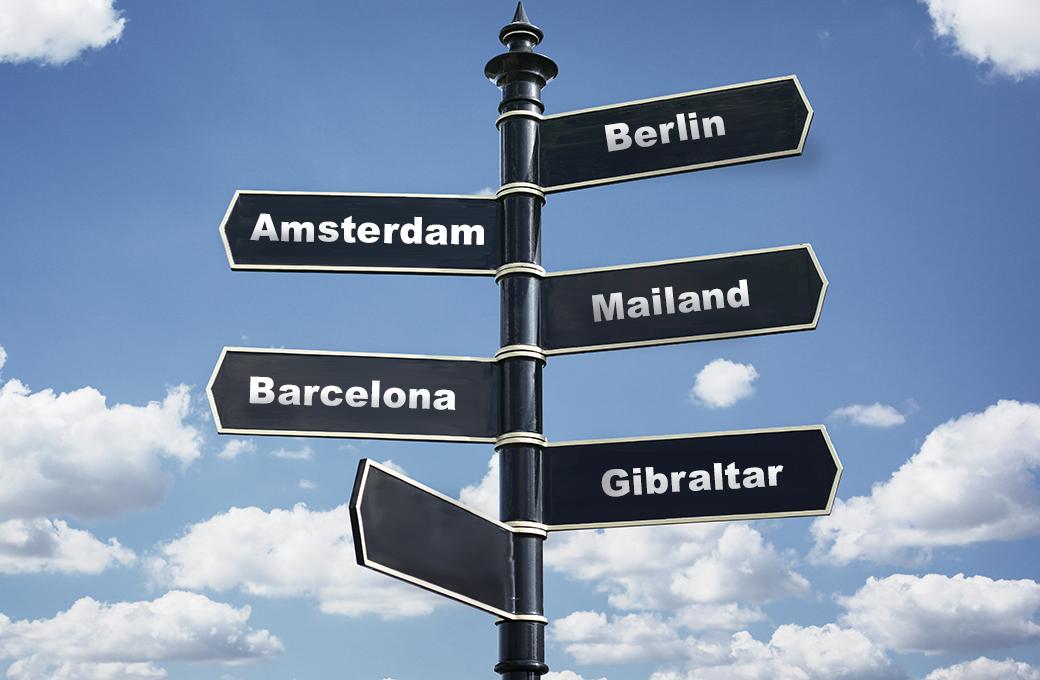 5 Städte
