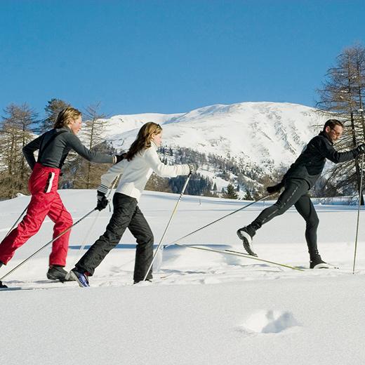 Tirol bietet auch etwas für Langläufer