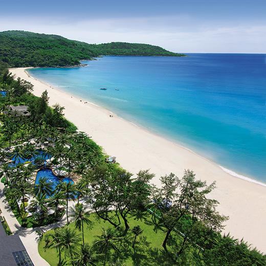 Eine Aussicht auf das Katathani Phuket Beach Resort