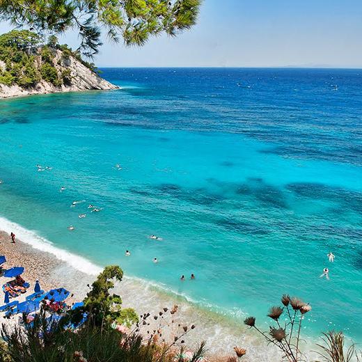 Der Strand Lemonakia