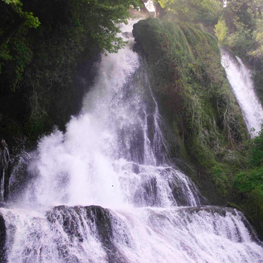 Die Patami Wasserfälle
