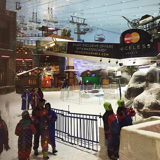 Skifahren in Dubei - ein einmaliges Erlebnis