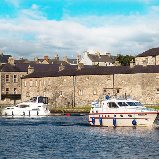 Shannon ist die ideale Wasserstrasse für Hausbootferien