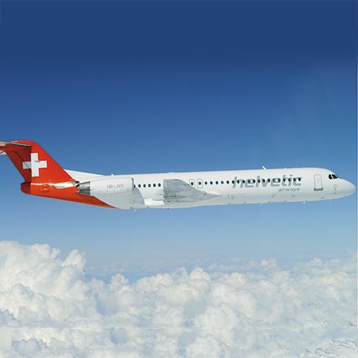 Eines von unseren Charterflügen