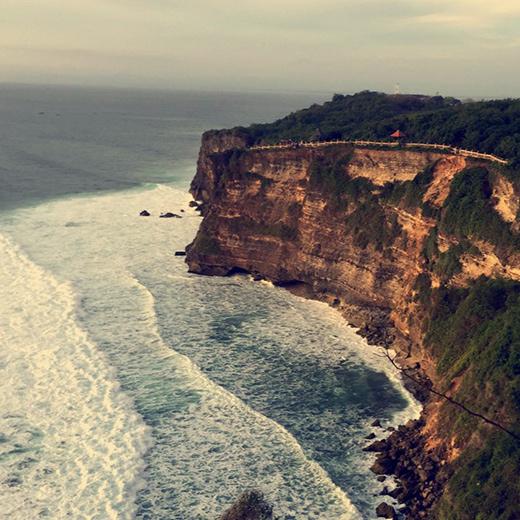 Die atemberaubenden Felsen der Südküste