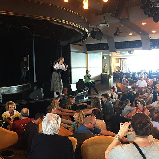 Jodel Workshop mit Miss Helvetia