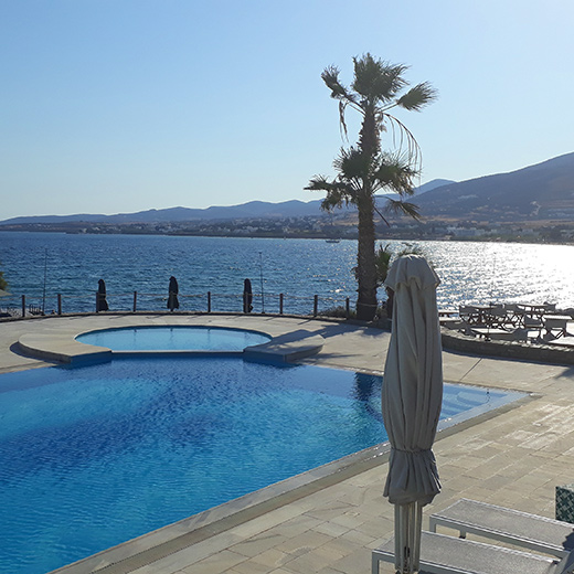 Das Paradies für Wasserratten – Poseidon of Paros Resort Spa