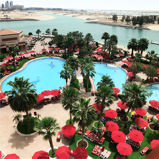 Notre hôtel le Khalidiya Palace Rayhaan by Rotana