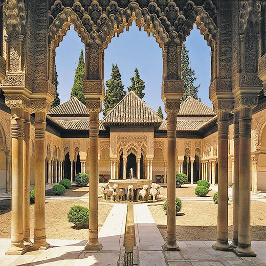 Die legendäre Alhambra in Granada