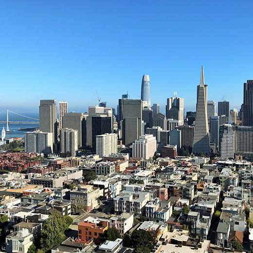 """Die unverkennbare Skyline von """"San Fran""""!"""