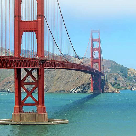 Golden Gate Bridge: Eines der meistfotografierten Wahrzeichen der Welt!