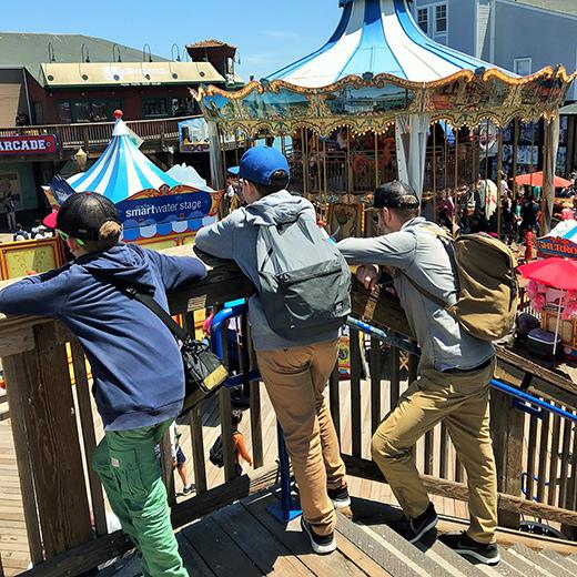 Pier 39: Das Disneyland von San Francisco