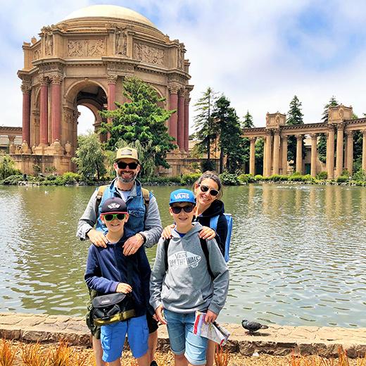 Nein, nicht in Rom oder Athen. Wir sind in San Francisco!