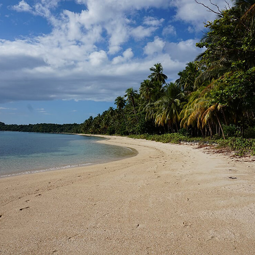 Einsamer-Strand-beim-Inselhopping-in-Port-Barton-entdeckt