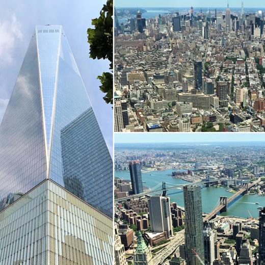 Höher hinaus geht nicht mehr: New York vom höchsten Turm der westlichen Hemisphäre aus betrachtet