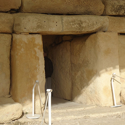 Ein Tempel Eingang