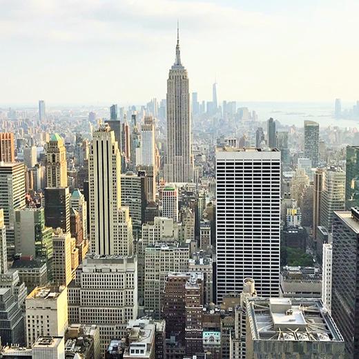 New York aus der Vogelperspektive: Schön – bei Tag oder bei Nacht