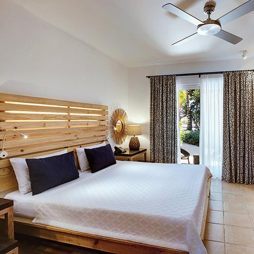 Une chambre à l'hôtel Veranda Pointe aux Biches