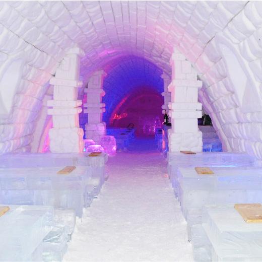 """""""Coole"""" Unterkunft im Schneedorf Lainio  Tolle aussicht aus dem Crown Glasiglu."""