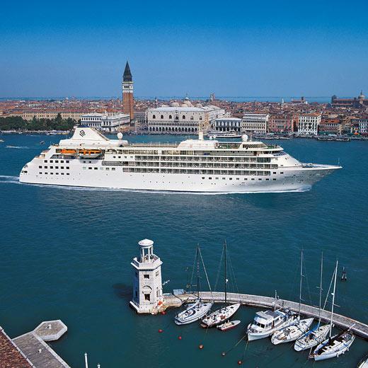 Das Kreuzfahrtschiff Silver Spirit